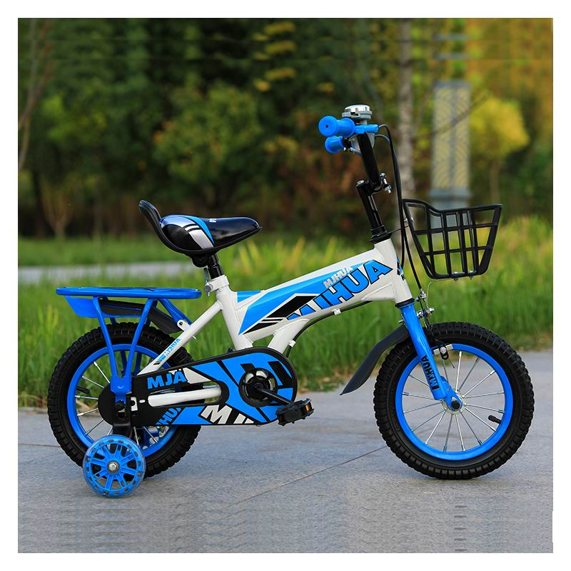 New Arrival Children's Bicycles Good Quality Kids Cycling 4-7 Years Old Boys Girls Vehicle Safe 14 Inch Outdoor Sport Bike