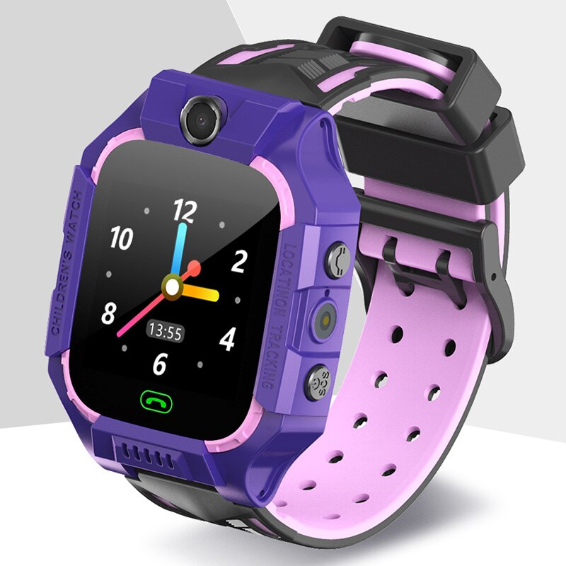 Reloj inteligente E12 Para Niños LBS Tracker reloj inteligente SOS Call para niños Monitor Anti pérdida reloj de pulsera para niños niñas Relojes