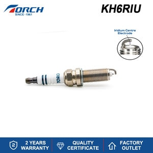 China Original Iridium TORCH Spark Plug KH6RIU Compatible Spark Ignition Candle NGK ILZFR5B for 0242229708 Champion OE190T10