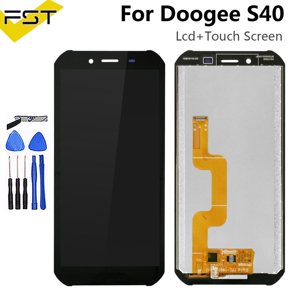 5.5''For Doogee S40 S40 Pro LCD Display+Touch Screen Digitizer Assembly For Doogee S40 Lite Mobile P