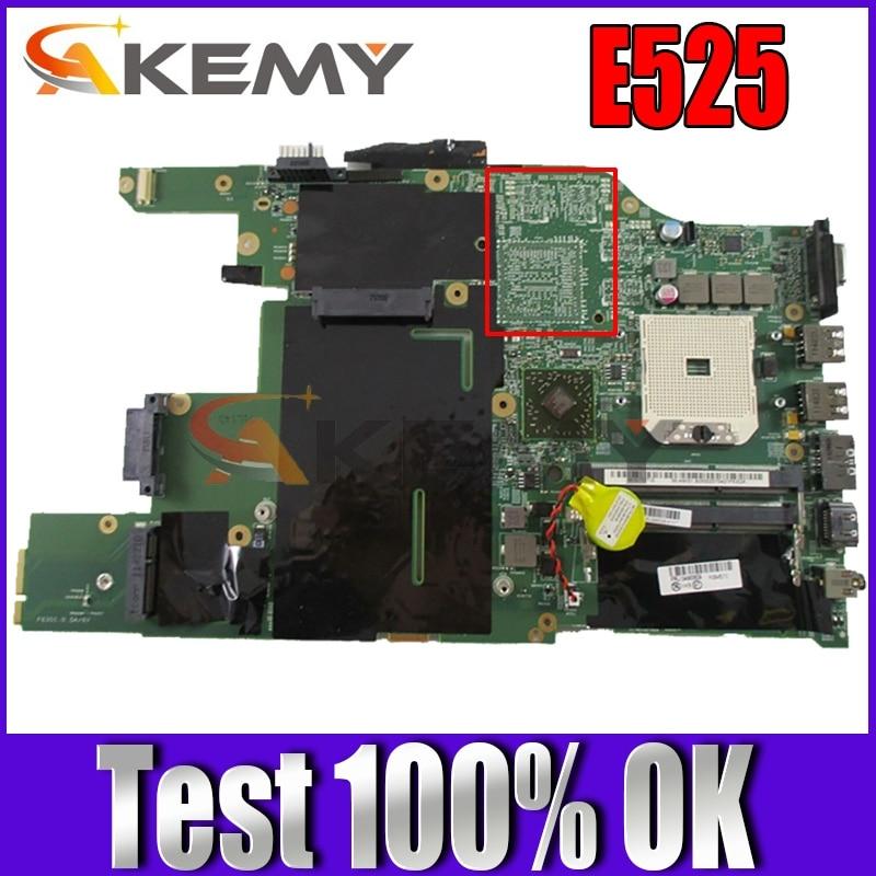 Akemy FRU 04Y1017 04W0609 اللوحة الرئيسية لينوفو ثينك باد E525 المحمول اللوحة المقبس FS1 DDR3