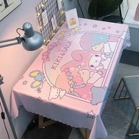cartoon cute tablecloth waterproof and scalding disposable large size tablecloth