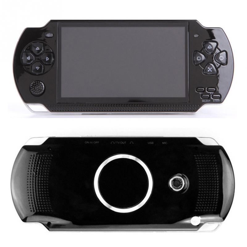 Consola de juegos portátil de 4,3 pulgadas 8G Pantalla de fácil funcionamiento reproductor MP3 MP4 MP5 soporte para juegos psp, cámara, vídeo, e-book