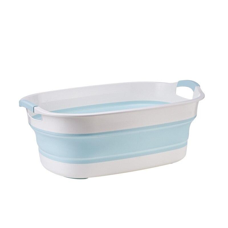 Portable Newborn Baby Folding Bath Tub Baby Swim Tubs Foldable Washing Non-Slip Bathtub Security Spa Children Kids Bath Tub enlarge