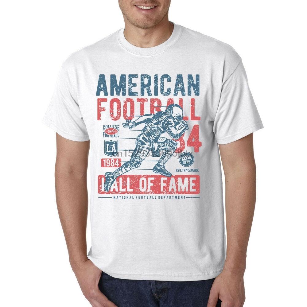 Fútbol americano camiseta del Salón de la Fama Linebacker defensa del receptor Quarterback