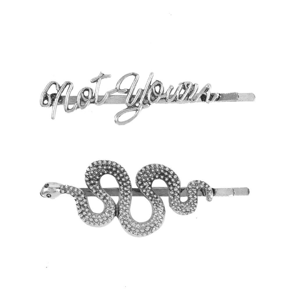 Corea Kawaii accesorios Para El cabello Cilps Para las niñas y las mujeres serpiente 2020 Coletas Para El Pelo Prendedor De Cabelo broches De moda nuevo