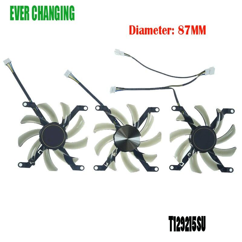 T129215SU 0.50A ventilateur de carte graphique pour Manli GTX 1080 Ti GTX1080TI Gallardo ventilateur de carte graphique