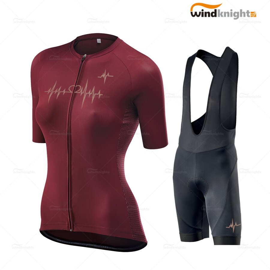 Conjunto de Jersey de ciclismo de manga corta para mujer, uniforme para...