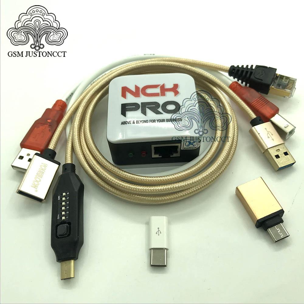 Edición 2020 NCK Pro box NCK Pro 2 box (soporte NCK + UMT 2 en 1) + UMF todos los cables de arranque para Huawei ....