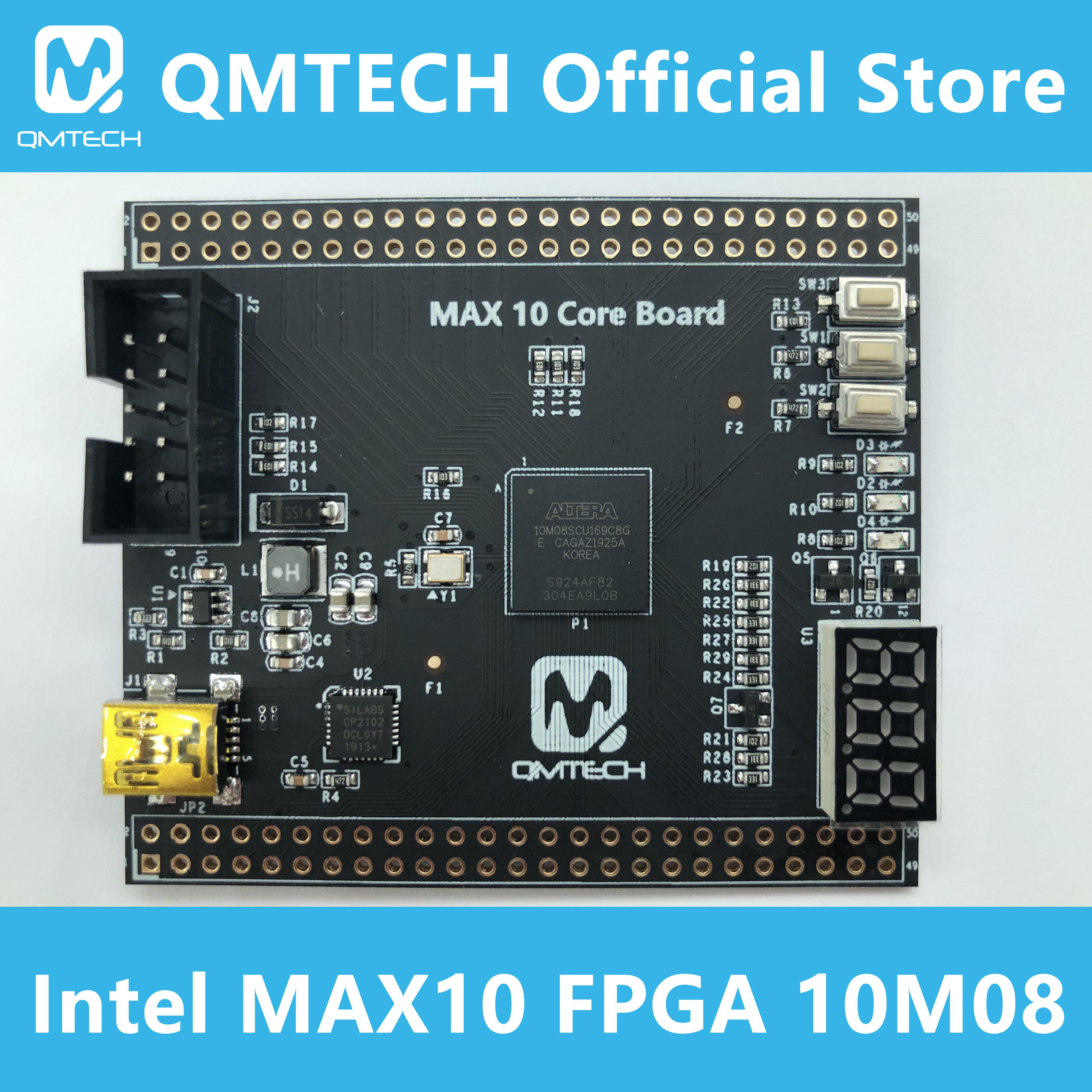 Макетная плата Intel CPLD FPGA 10M08 MAX 10 QMTECH Altera MAX10