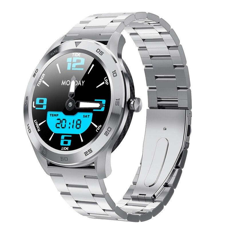 DTNO.I No.1 DT98 Smart Watch IP68 Waterproof 1.3 Full Round HD Screen ECG Detection Changeable Dials Smartwatch Fitness Tracker