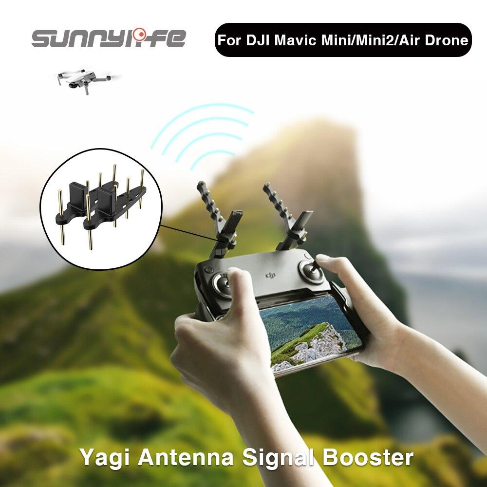 Усилитель сигнала Sunnylife Yagi 5,8/2,4 ГГц для дрона DJI Mavic Series/Spark/Smart Controller/Phantom 4 Pro/FIMI X8SE 2020