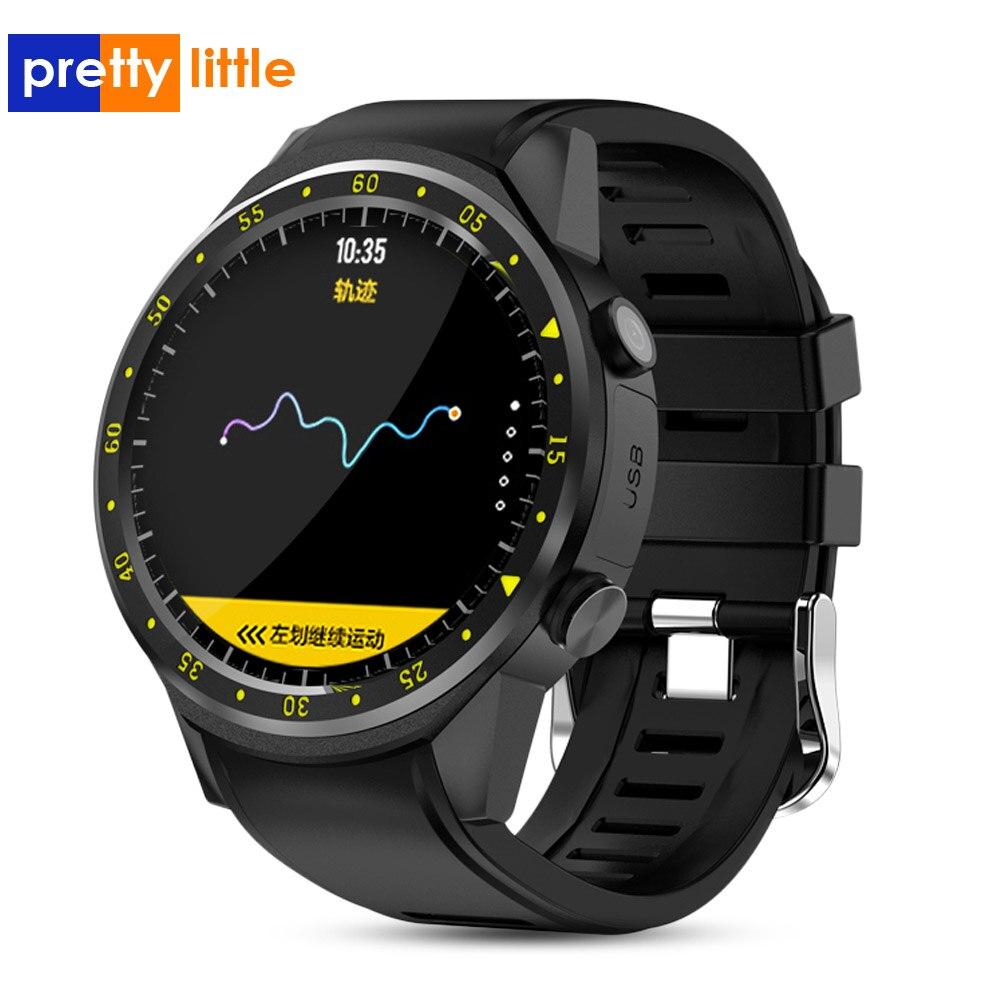 Reloj inteligente F1 para hombre, reloj GPS, rastreador de ritmo cardíaco, Smartwatch 2020, modo multideporte con tarjeta SIM, podómetro para teléfono Android Ios