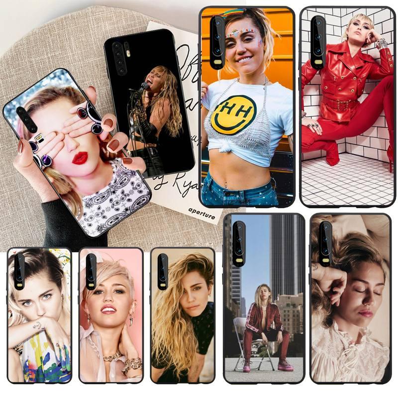 NBDRUICAI Miley Cyrus Coque funda del teléfono carcasa para Huawei Honor 20 10 9 8 8x 8c 9x 7c 7a Lite ver