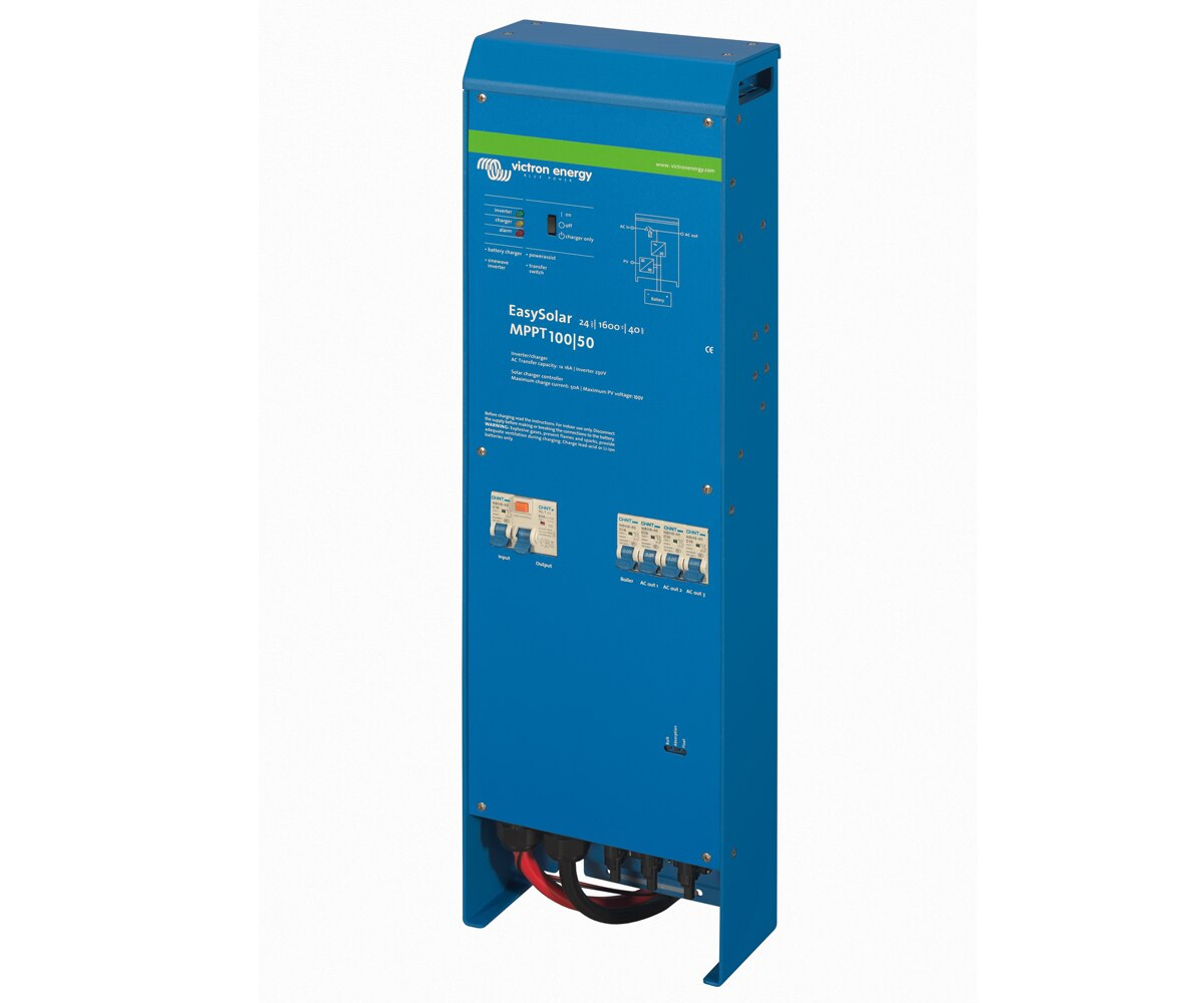 WccSolar Inversor Victron EasySolar 12V 1600VA Cargador 70+16 MPPT 100V 50Amp