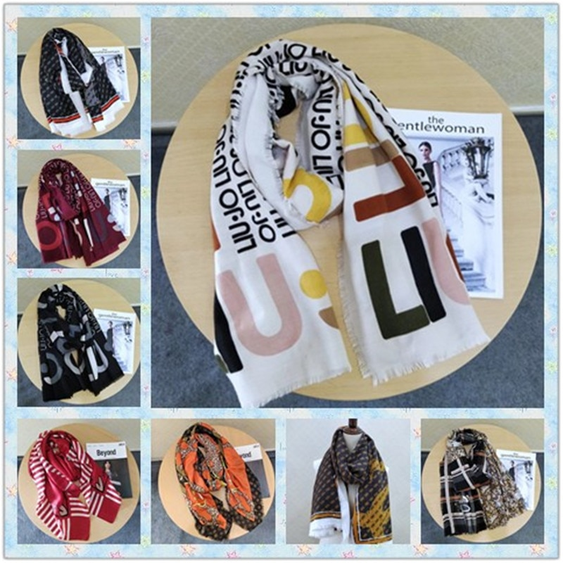 2020 hot sale Italian ladies print shawl breathable fashion comfortable thin silk scarf high quality
