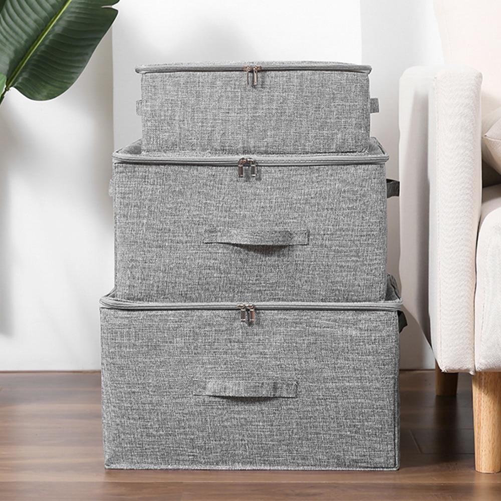 قابل للغسل صندوق تخزين قابل للطي صندوق تخزين ملابس صناديق منظم منزلي قماش كبير صندوق قابل للطي لعب كتب حاويات سلة التخزين