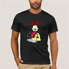 2019 Mens white short sleeve t-shirt Odie Garfield perro Beagle Lyman Jon Arbuckle dibujos animados hombres mujeres  t-shirt