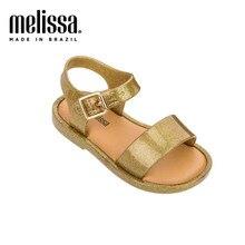 Мини Melissa Mar сандалии 2020 новые детские сандалии обувь для девочек сандалии для девочек детские пляжные сандалии дышащая детская обувь Melissa