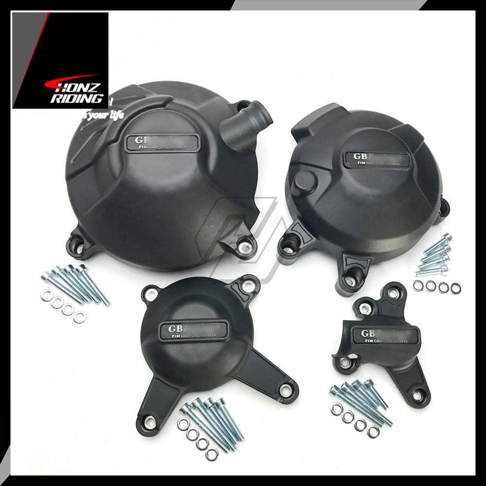 Para yamaha MT-09 FZ-09 tracer 2014-2019 proteção de cobertura do motor para gb racing