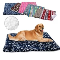 winter dog bed blanket soft fleece pet sleeping bed cover mats warm sofa cushion mattress for small large dogs cats
