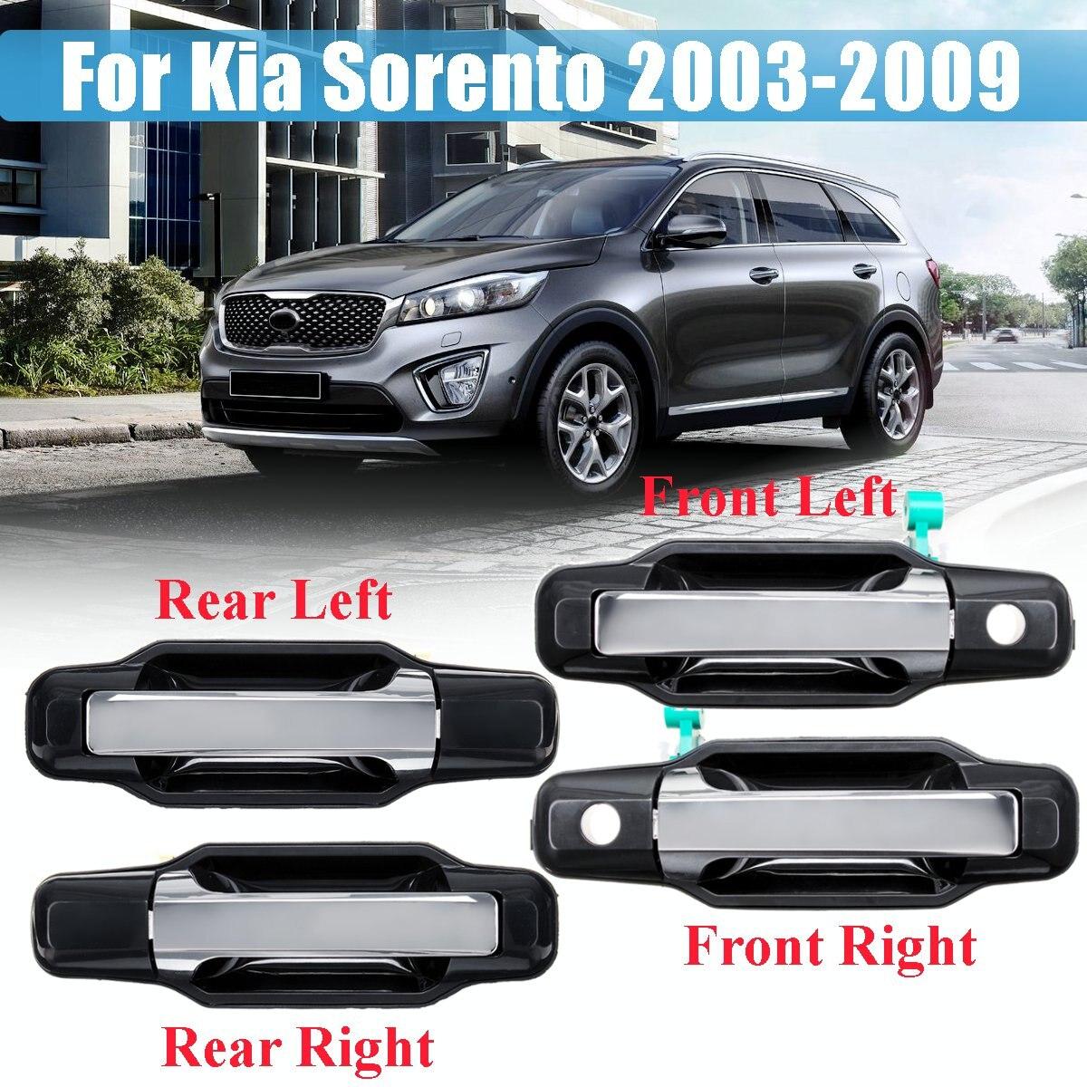 Ручка двери LHD для Kia Sorento 2003, 2004, 2005, 2006, 2007, 2008, 2009, 826503E021, 826603E021, 836503E01