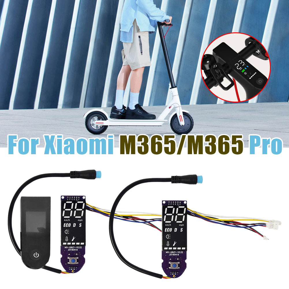 bluetooth board electric scooter and switch panel m365 upgrade circuit board instrument for xiaomi 87hf Hot Sale Upgrade Original Dashboard Circuit Board Scooter Replacement Part for Xiaomi M365/pro Electric Scooter Fast Delivery