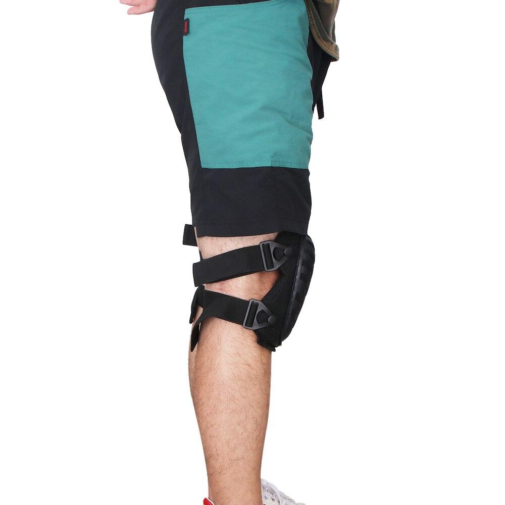 2 piezas de cómodo y seguro de la rodilla almohadillas EVA rodilla almohadillas para jardín al aire libre de los trabajadores trabajo constructores durable rodilleras para el jardín