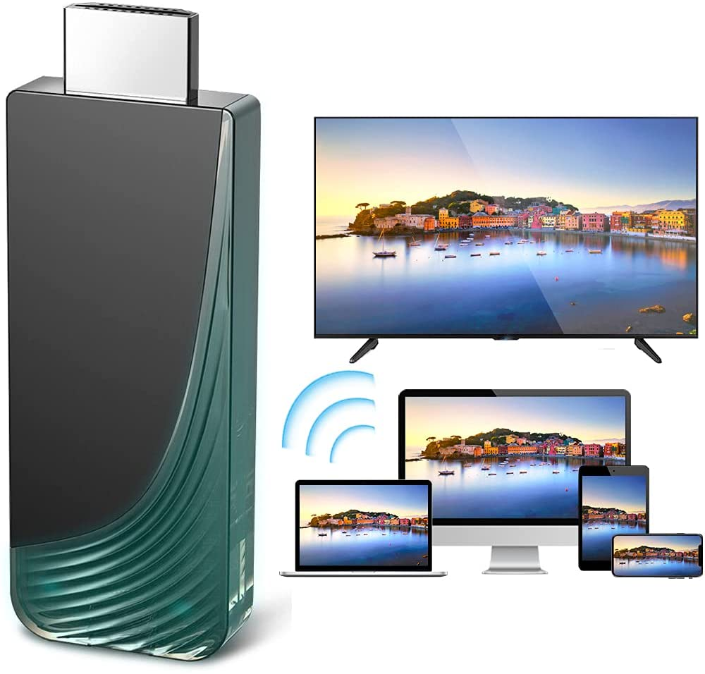 Wireless HDMI Display Dongle Adapter, iBosi Cheng Full HD 1080P WiFi Screen Mirroring Adapter Cast i