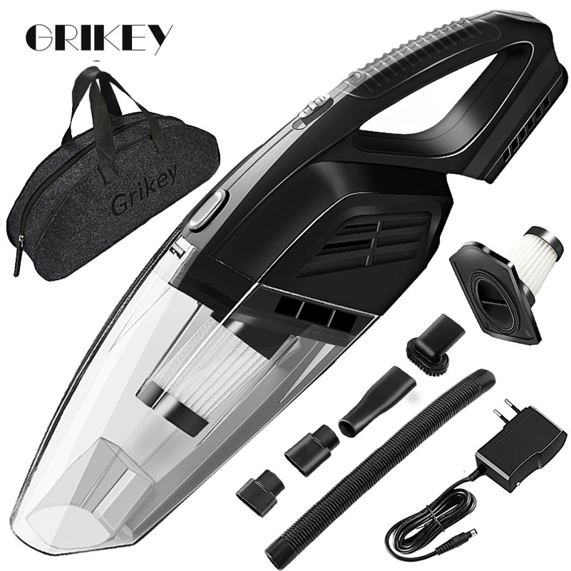 Wireless Vacuum Cleaner Handheld Car For Big Suction Dry Wet