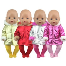 2020 New Down Jackets Suit Fit For 43cm Baby Born Doll 17inch Born Babies Doll Clothes and Accessori