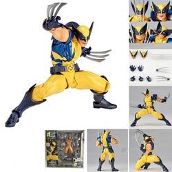 Marvel Revoltech Amazing Super Hero X-Men Росомаха, Логан Howlett ПВХ фигурка Коллекционная для детей игрушки подарки Brinquedos