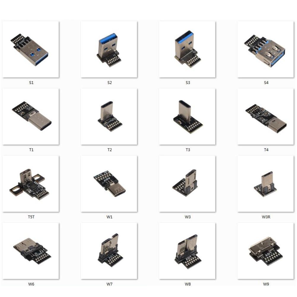 Cable de extensión de carga FPC flexible y plano, Conector Micro B...