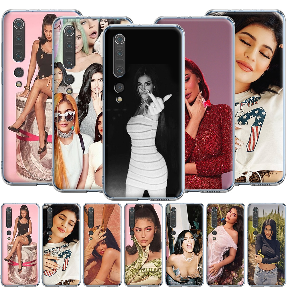 Kylie Jenner funda de silicona para Xiaomi Redmi note K20 ir S2 8A 7A 7 6A 6 5 5A 4X 4A Pro Plus