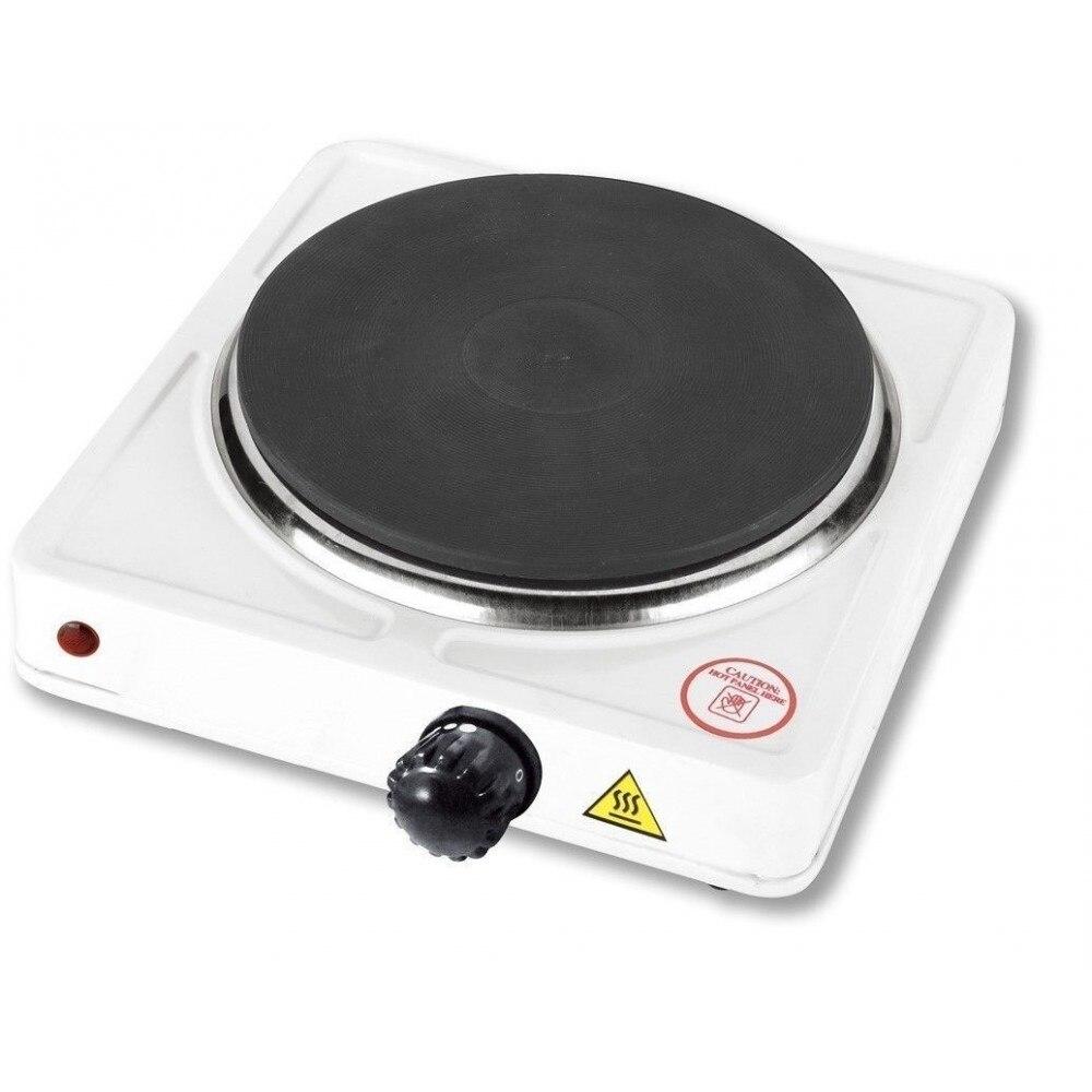 طباخ كهربائي 1000 واط قابل للتعديل لوحة الحديد الزهر التخييم السفر 152 مللي متر