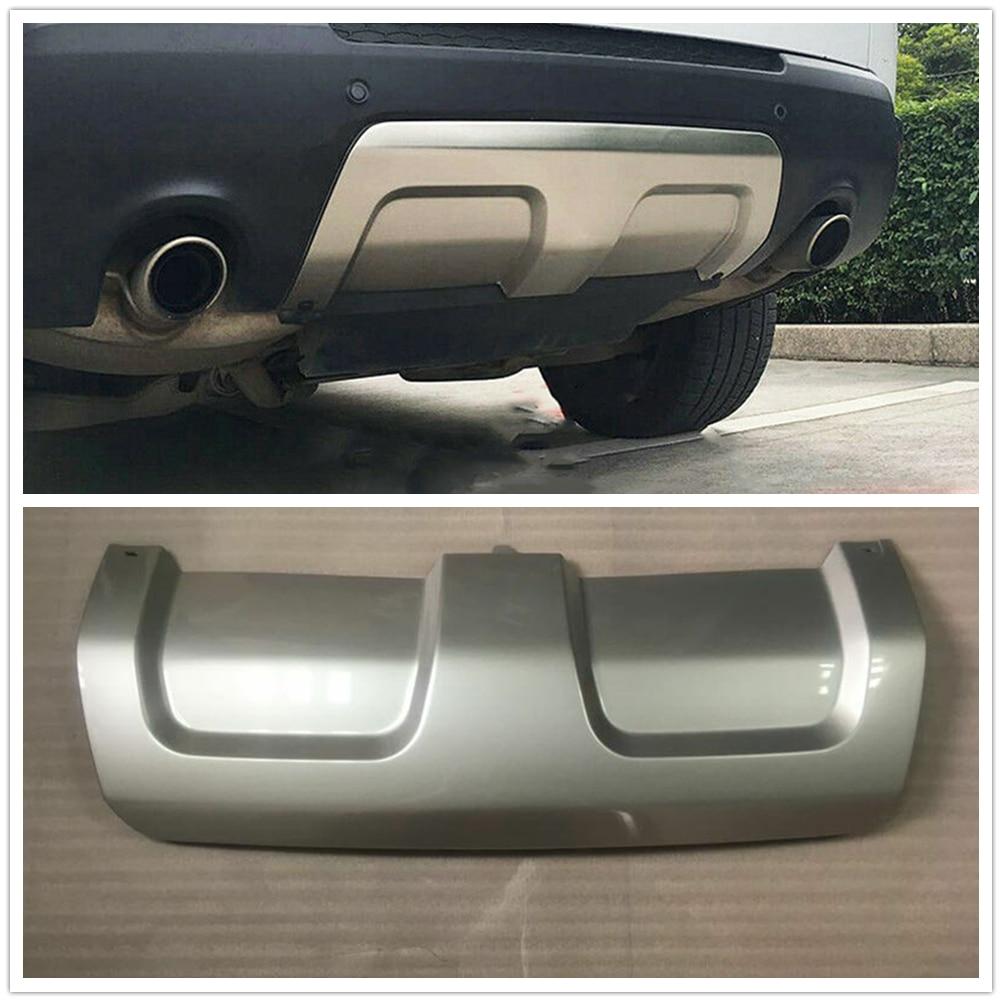 Tablero embellecedor de placa de deslizamiento de parachoques trasero para Land Rover Range Rover Sport 2014 2015 2016 2017 ABS A