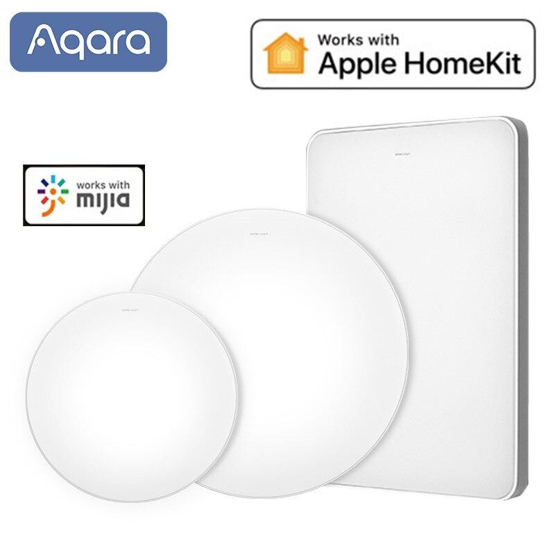 Aqara OPPLE MX650 MX480 Mx960 lámpara de techo LED inteligente aplicación Control de voz Color temperatura ajustable soporte Apple Homekit