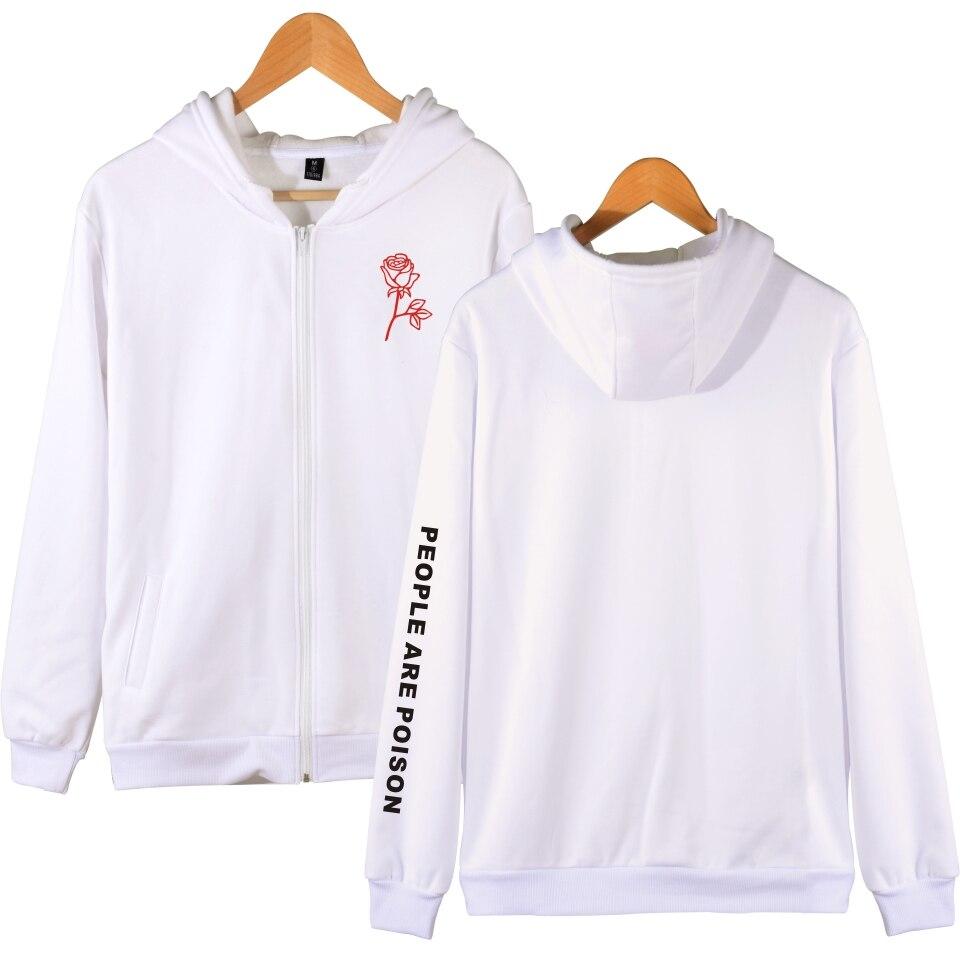 Nuevo estampado de sudaderas con capucha blanco inspirado en Tumblr estético Pastel pálido estética Grunge Sudadera con capucha mujer ropa personas abrigo