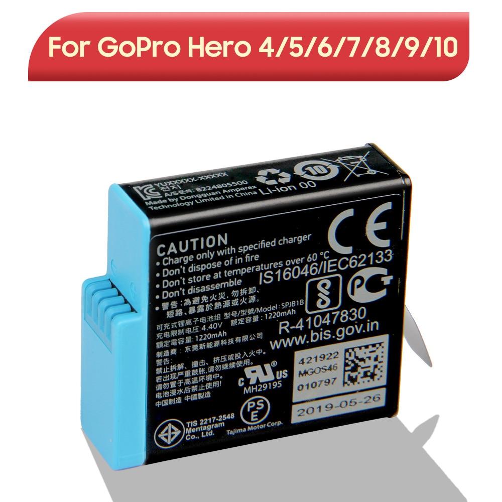 Original Replacement Battery For GoPro Hero 9 10 8 7 6 5 4 Hero 10 9 Hero 8 Hero 7 Hero 6 Hero 5 Hero 4 Sport Camera Battery