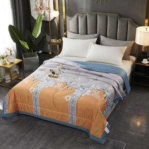 Tiansi Summer Cool Quilt Double Summer Quilt Ice Silk Air Conditioner Quilt Core Machine Washable Antibacterial Single Thin Summ
