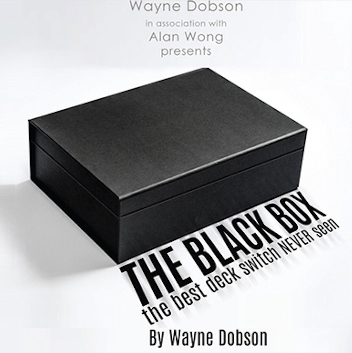 La caja negra (truco e instrucciones en línea) trucos de Magia divertidos Close up Magia ilusiones mentalismo trucos magos