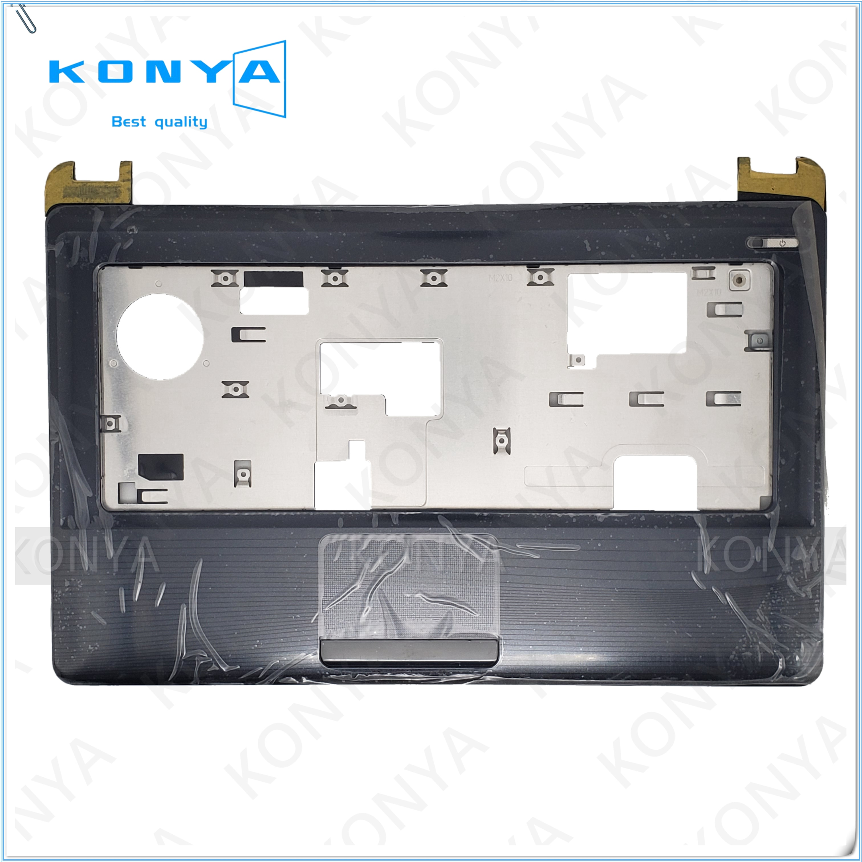 Novo original para asus k42 x42 a42 k42j x42j a42j portátil apoio de mãos superior caso touchpad 13gnxs3ap011-3 palmrest capa superior