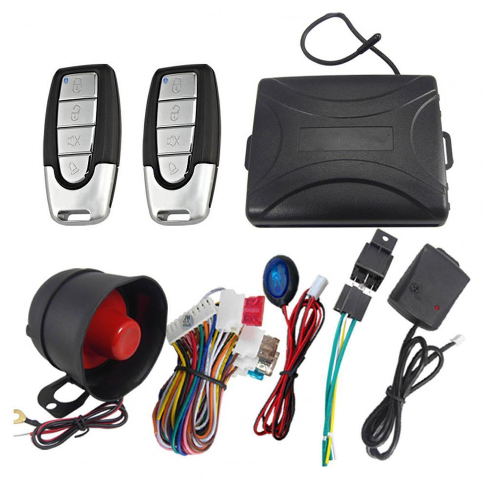 802-8115 Универсальная автомобильная сигнализация, противоугонная металлическая охранная сигнализация, охранная сигнализация для транспортн...