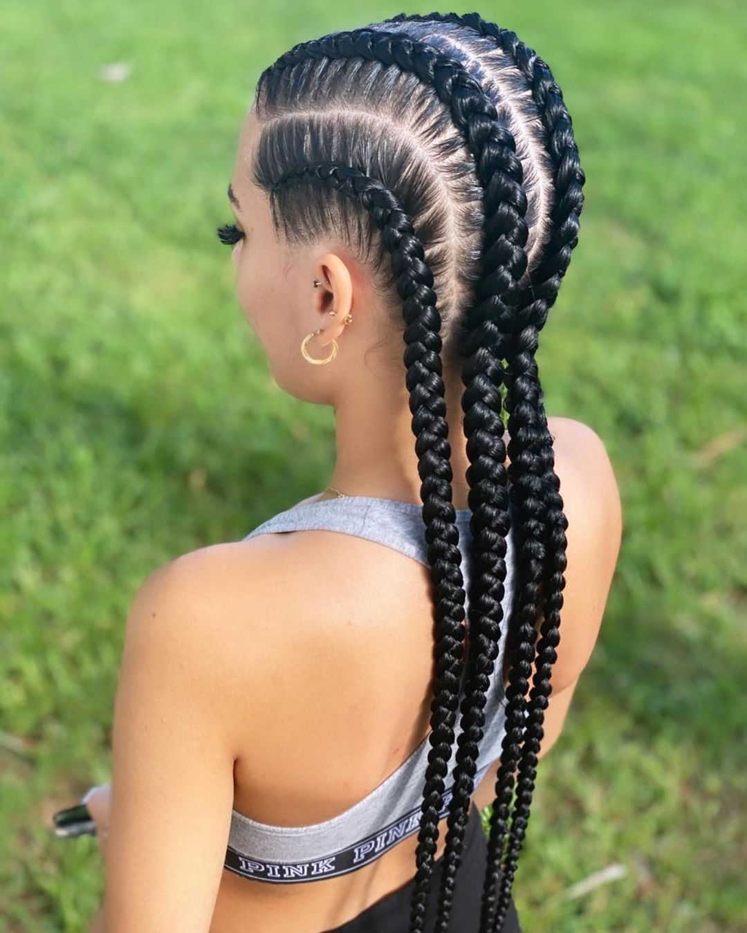 Synthetic Lace Wig Braided Wigs Natural Dark 32 Inches Black Burgundy Wig For Black Women American African Wig Wholesale Cheap enlarge