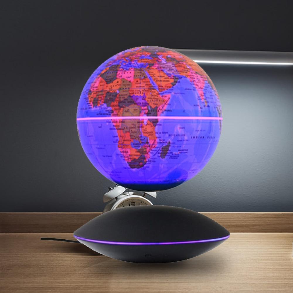 Магнитная левитационная карта глобуса домашний офис Декор шар плавающий вращающийся 6 дюймов Глобус мира Земля НЛО основа креативный подар...