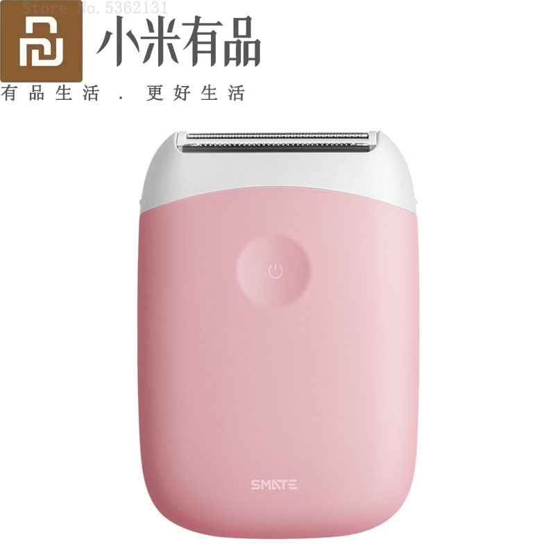 New XIAOMI Smate Electric Epilator Hair Removal Trimmer Women USB Rechargeable Mini Portable Smooth