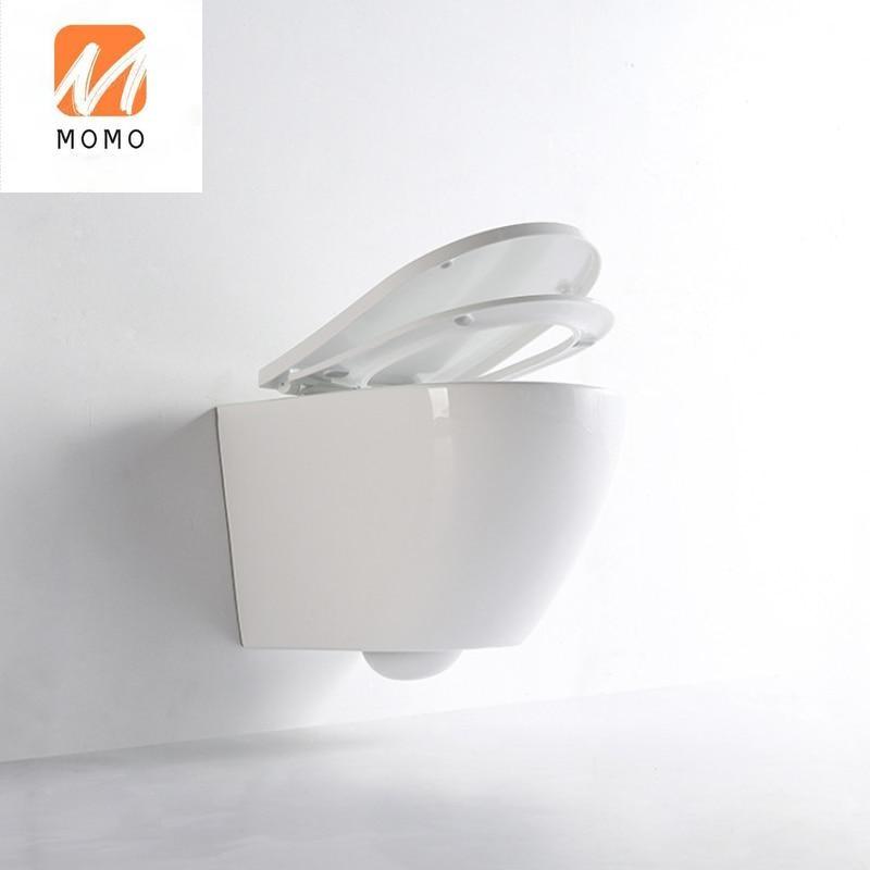 لون معلق المرحاض ، رمادي معلق المرحاض ، مقعد الجدار ، منفذ معلق المرحاض البيولوجية المرحاض كلوسيستول مقعد المرحاض