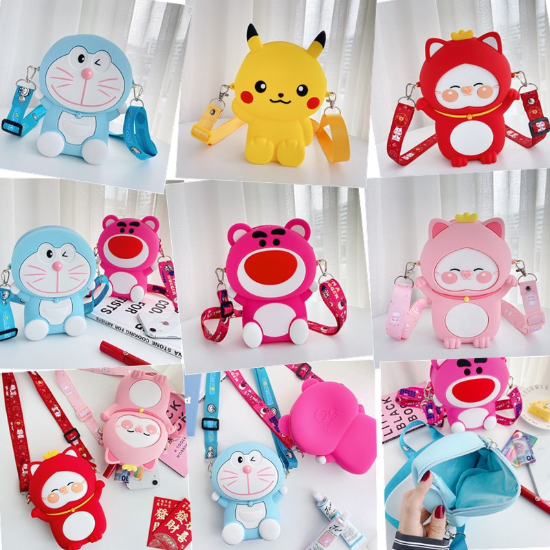 Nova venda quente kawaii dos desenhos animados anime bolsas de luxo bolsas femininas designer bonito meninas bolsas e bolsas moda bonito sacos de ombro