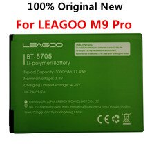 100% Original New BT-5705 3000mAh Battery For LEAGOO M9 Pro M9Pro BT5705 BT-5705 Mobile Phone Smart
