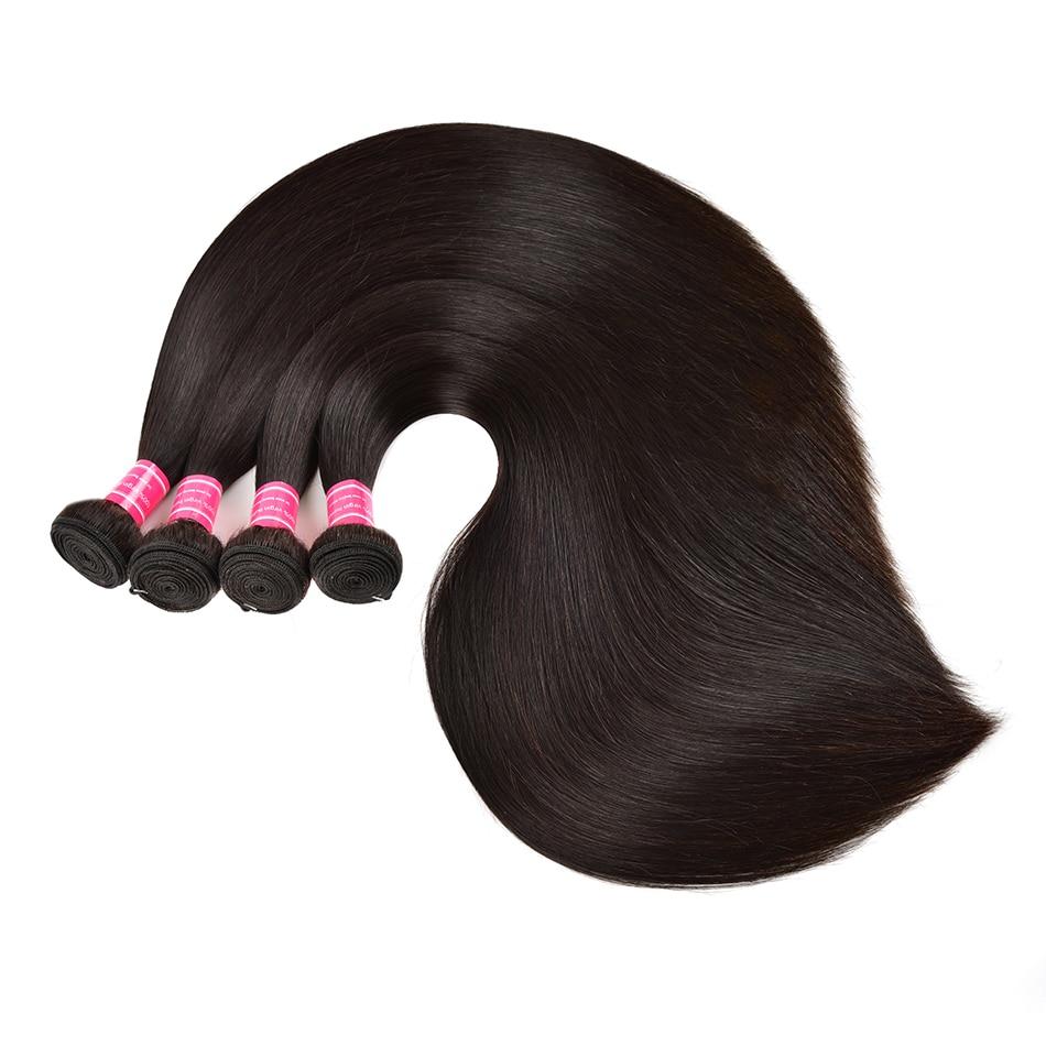 Straight Human Hair Bundles Wholesale Price 3/5/10/20 Bundles Deal Brazilian Human Hair Unpressed Human Virgin Hair Bundles